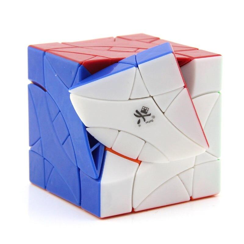 DaYan BiYiNiao Lovebirds 12 axes 3 rang Cube magique biaisé vitesse professionnelle torsion Puzzle Antistress jouets éducatifs pour les enfants - 5