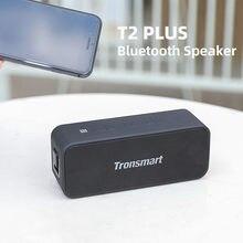 Tronsmart original t2 mais bluetooth alto-falante 20w portátil soundbar com ipx7 à prova dtwágua tws som estéreo coluna bluetooth