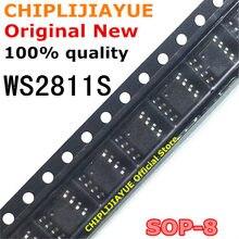 10 pces ws2811s ws2811 sop-8 2811 s 2811 sop8 smd novo e original chipset ic