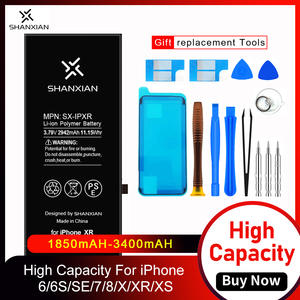 Shanxian-Battery Baterry Internal-Replacement iPhone 6 2200mah for 6S SE 7/8-x-xr/Xs/..