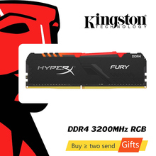 DIMM Memory DDR4 Kingston Hyperx 2666-Mhz 3200mhz FURY 16GB 8GB CL15 XMP Desktop