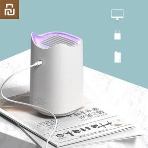 Image 1 - Youpin Sanlife repelente de mosquitos con USB, repelente de mosquitos inteligente para el hogar, para interiores, silencioso, sin radiación, repelente para mosquitos fotocatalizador