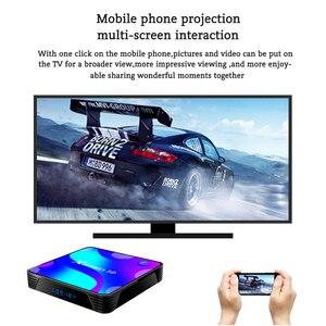 Image 5 - TV Box Android 10 Smart TV Box X88 PRO 10 4GB 64GB 32GB Rockchip RK3318 4K TVbox Support Google Youtube Set Top Box x88pro 10.0