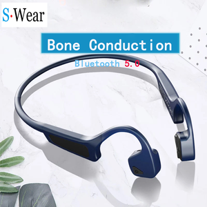 Image 1 - 블루투스 5.0 G18 무선 헤드폰 뼈 전도 이어폰 야외 스포츠 헤드셋 마이크 핸즈프리 헤드셋