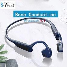 Bluetooth 5.0 G18 kablosuz kulaklıklar kemik iletim kulaklık açık spor kulaklık mikrofon ile Handsfree kulaklık