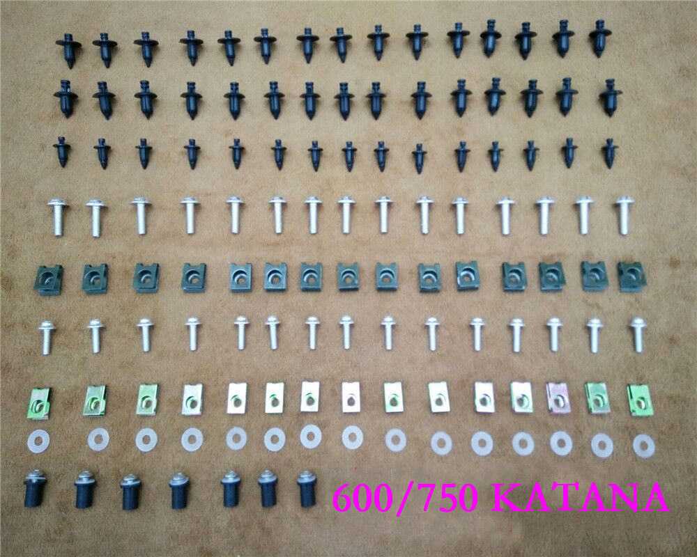 Fairing Bodywork Kit Bolts Screws For Fit For Suzuki  600/750 KATANA 1998 2006|Full Fairing Kits| |  - title=