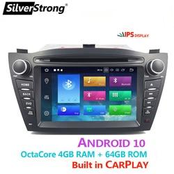 OctaCore,IPS,4G 64GB,IX35 Radio Car DVD,For Hyundai ix35 Tucson,Android10 GPS Carplay,Media Player,Quadcore,4G Modem,DSP option