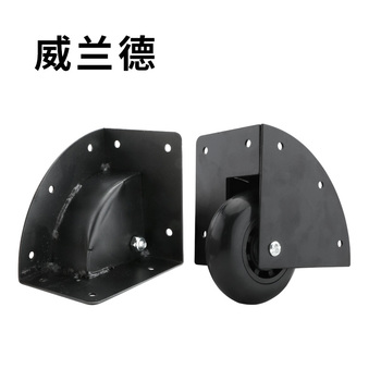 Luggage accessories  mute wheel Bag case wheels replacement repair suitcase accessorie  parts Flight Case  wear resistant caster suitcase luggage wheel replacement accessories luggage makeup trolley high quality flight case repair fixed black wheels