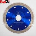 Raizi phoenix 115/125/180/230mm malha fina turbo diamante corte viu a lâmina para porcelana telha disco de corte