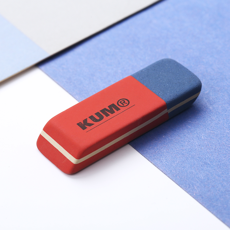 1pc KUM Germany Imported Art Eraser Highlight Painting Sketch Scrub Rubber Suitable For Pencil Pen Ball-point Pens School Supply