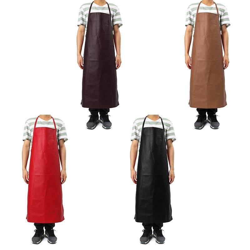 PU Leather Welding Apron Equipment Welder Protection Heat Insulation Apron Kitchen Work Wear