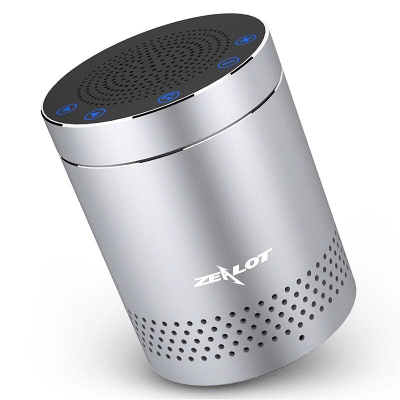 ZEALOT S15 Aluminum Bluetooth Speaker Column Super Bass Stereo Wireless Subwoofer Handsfree With Microphone|bluetooth speaker - title=