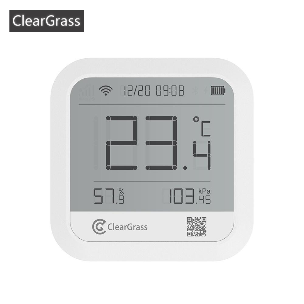 Youpin Cleargrass Weather Station Forecast Temperature Humidit atmospheric pressure Sensor Digital Clock Smart Wifi APP Control image
