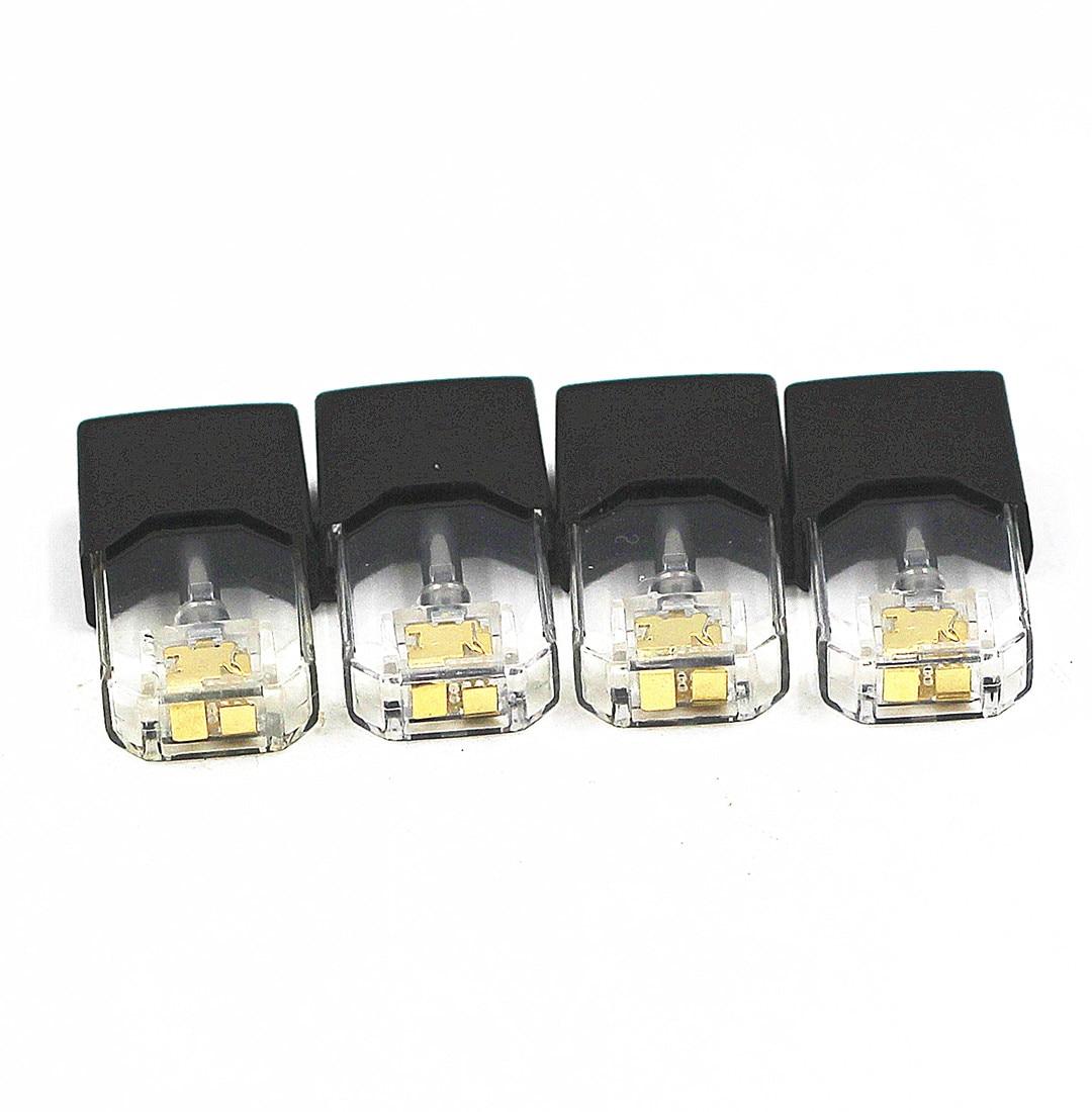4Pcs Vape Cartridge Pods 0.7ml Capacity E Cigs Pod For E Cigarette Vape Juu1 Pod System Device Starter Kits