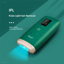 Electric Epilator Hair-Removal IPL Flashes Permanent Painless Photen Ckeyin-999-000 Home-Use