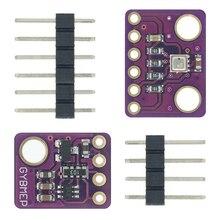 BME280 3.3V 5V דיגיטלי חיישן טמפרטורת לחות ברומטרי לחץ חיישן מודול I2C SPI 1.8 5V BME280 חיישן מודול