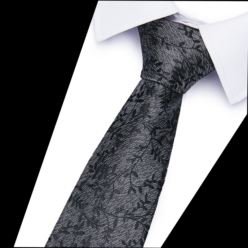 New Formal Ties For Men Classic 100%Silk Woven Plaid Dots Party Necktie Fashion Slim 6CM Wedding Business Male Casual 12505
