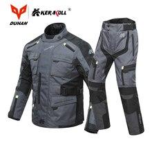 KERAKOLL Motorrad Jacke Männer der Winddicht Wasserdichte Winter Moto Motocross Jacke Nacht Reflexion Motorrad Reiten Jacke Set