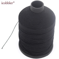 DIY High Quality 0.8mm Round Waxed Thread, 1psc Length Is 750m Strong Hand Sewing Polyester Thread for Leather Clothing Wallet