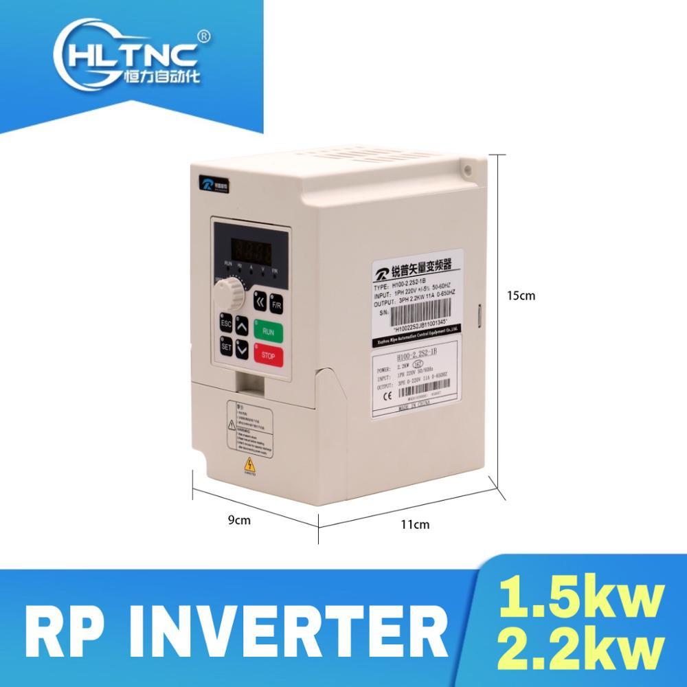 Inversor de velocidad para CNC, 2020 kW, 2,2 kW, frecuencia VFD 110V/220V/380V, 400HZ