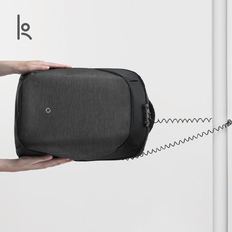 Korin Ontwerp De ClickPack Pro Anti Cut Anti dief Rugzak Mannen Laptop Rugzak 15.6 inch Schooltassen voor jongens - 2