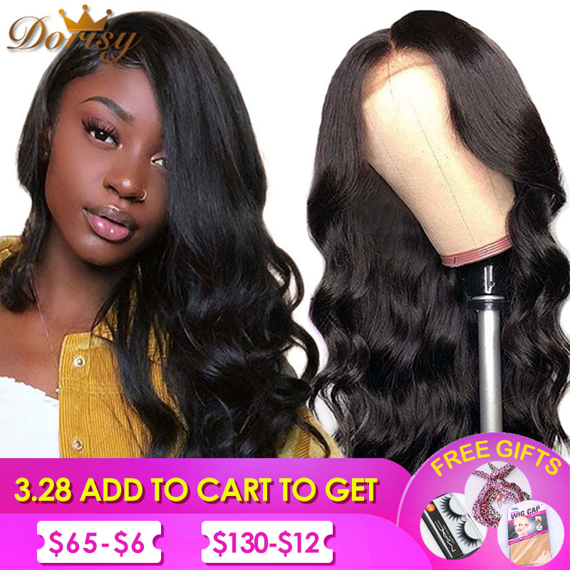 Lace Front Human Hair Wigs Body Wave Lace Wig With Baby Hair Pre Plucked 13x4 Brazilian Human Hair Wigs Non Remy Wig