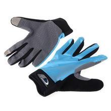 Силиконовые противоскользящие перчатки на весь палец, перчатки для занятий спортом на открытом воздухе с сенсорным экраном