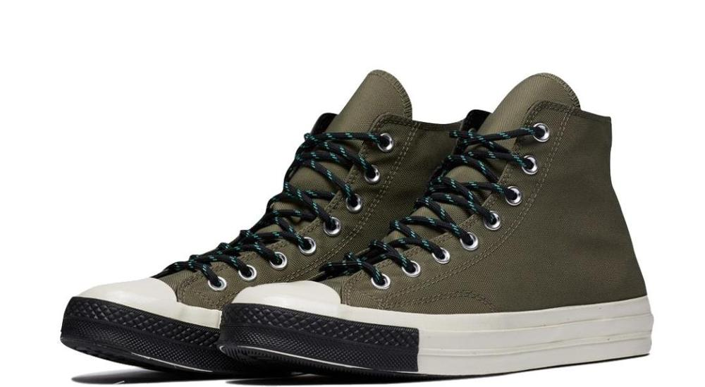 Аутентичные высокие кроссовки раздельного патрона Тейлор 1970s для мужчин и женщин, Классические ботинки болотного цвета на платформе для от...