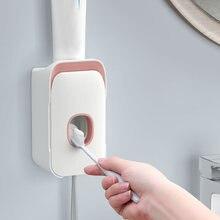 Автоматический диспенсер для зубной пасты 2 в 1 настенный держатель
