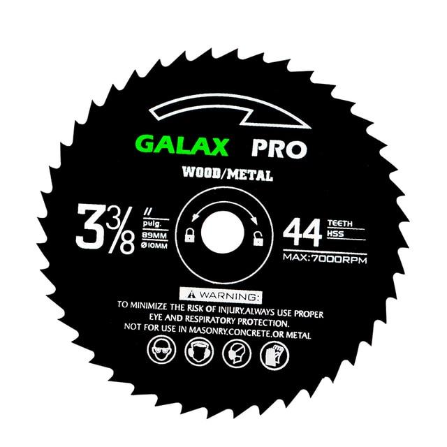 89Mm 10Mm Gat 44 Tanden Circulaire Hss Zaagblad Slijpschijven Wheel Voor Dremel Rotary Tool Elektrische Slijpen