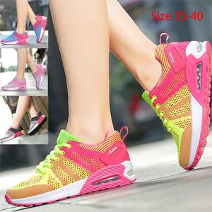Running-Shoes Tennis-Comprehensive Fitness-Training Breathable Fashion Women's Mesh Black