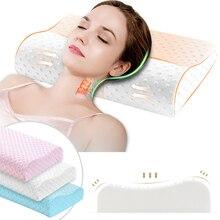 DIDIHOU 3 цвета Memory Foam подушка ортопедические подушки латексная подушка для шеи волокно медленный отскок мягкая подушка Массажер для воротниковой зоны здоровье