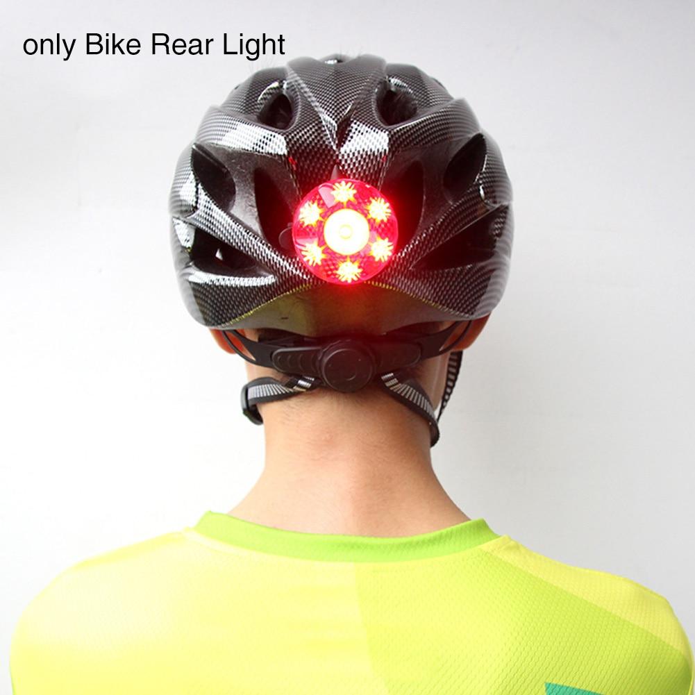 Cycling Accessories High Intensity Safety Smart Brake Night Riding USB Rechargeable Waterproof For Helmet Bike Rear Light Strobe Pakistan