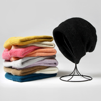 VISROVER 10 farben einfarbig kaninchen fell Winter mützen für frau lange haar Warme kappe Casual Hohe Qualität weichen handfeeling hüte
