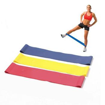 Gym Fitness Resistance Bands Latex Yoga Crossfit Stretch Bands Strong Rubber Band Home Gym Exercise Training Workout Equipment