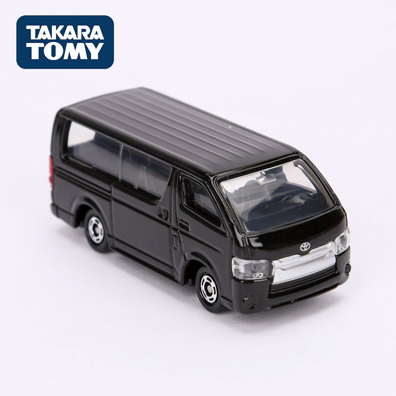 Takara Tomy Tomica 113 Toyota HIACE Black Metal Diecast Vehicle 1:64 Toy Car Model Toys For Children Collectable New