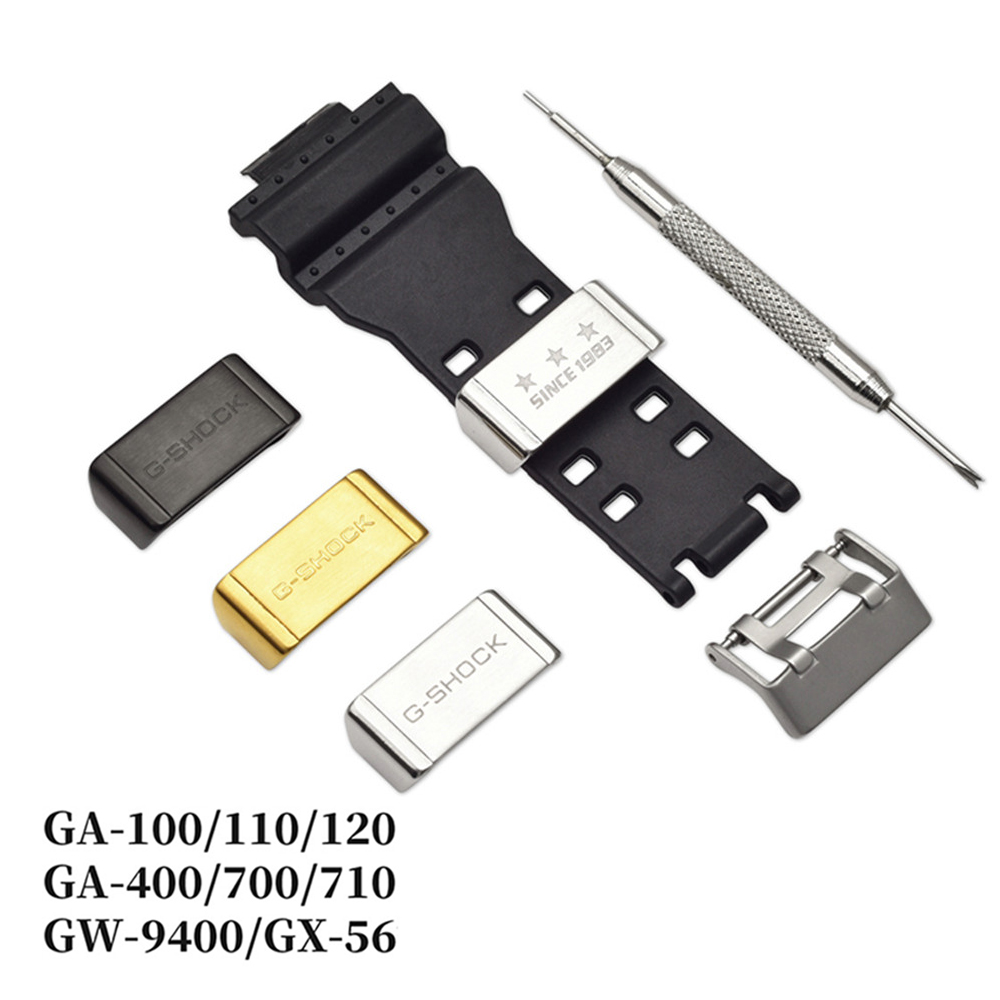 18mm 20mm 22mm Stainless Steel Buckle For Casio G-SHOCK GA-110 GD-100 GG-1000 DW-5600 GG-1000 Watch Metal Loop Holder Ring Clasp