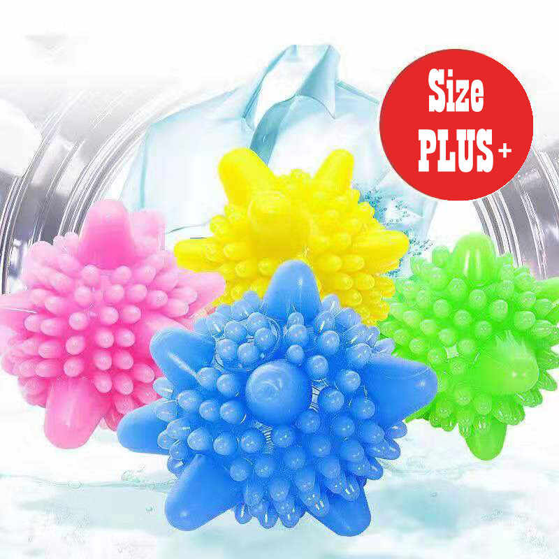 Reusable Magic Laundry Balls Rubber Washing Ball For Clothes Care Home /& Living