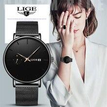 LIGE Women Watches Top Brand Luxury Ladi