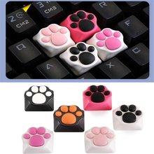 Колпачки для клавиатуры с кошачьими лапами из АБС силикона cherry
