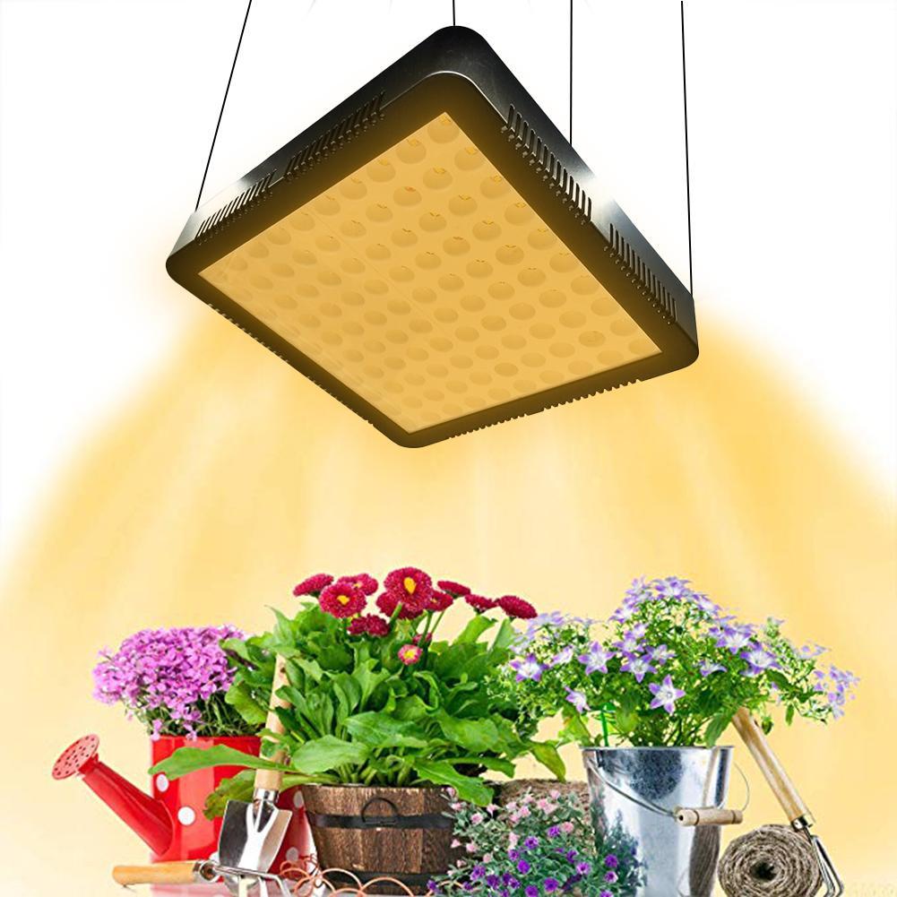 1000W LED Grow Light Sunshine Full Spectrum Light SMD2835 Plant Grow Lamp Indoor Plants Veg/ Flower Lighting AC 85-65V