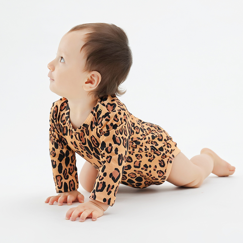 Mother Panda and Her Baby Infant Baby Boys Girls Crawling Suit Short-Sleeve Romper Bodysuit Onesies Jumpsuit
