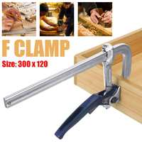 30X12cm Heavy Duty F Clamp Clip Clamp for Woodworking Duty Metal Parallel Clamp Wood Clamp F Type Fixture Clamps DIY Hand Tool