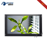 ZK140TN 56/14 inch 1920x1080p IPS VGA HDMI Built in Speaker Embedded Open Frame PC Monitor LCD Screen USB U disk Video Player