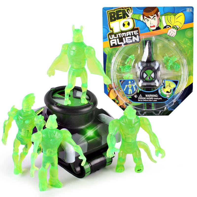Ben10 Ben 10 Ultimate Omnitrix Style Clock. Japan Projector Watch Genuine Clocks Clock Pulse Toy Kids Toy Gift