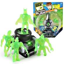 Ben10 Ben 10 Ultimate Omnitrix Style Clock. Japan Projector Watch Genuine Clocks Clock Pulse Toy Kids Toy Gift