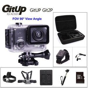 Image 5 - GitUP Git2P 90도 렌즈 액션 카메라 2K 와이파이 스포츠 DV 풀 HD 1080P 30m 방수 미니 캠코더 1.5 인치 Novatek 96660