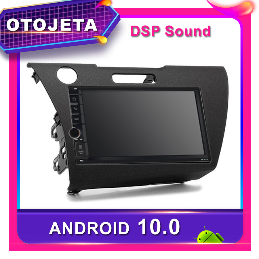 Frame android 10.0 car radio Player for <font><b>Honda</b></font> CR-Z 2010 Car <font><b>GPS</b></font> <font><b>HONDA</b></font> <font><b>CRZ</b></font> 2011 CAR multimedia CANBUS Bluetooth Stereo headunit image