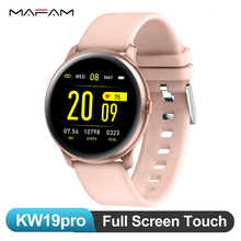MAFAM KW19pro Full Screen Touch Smart Watch Blood
