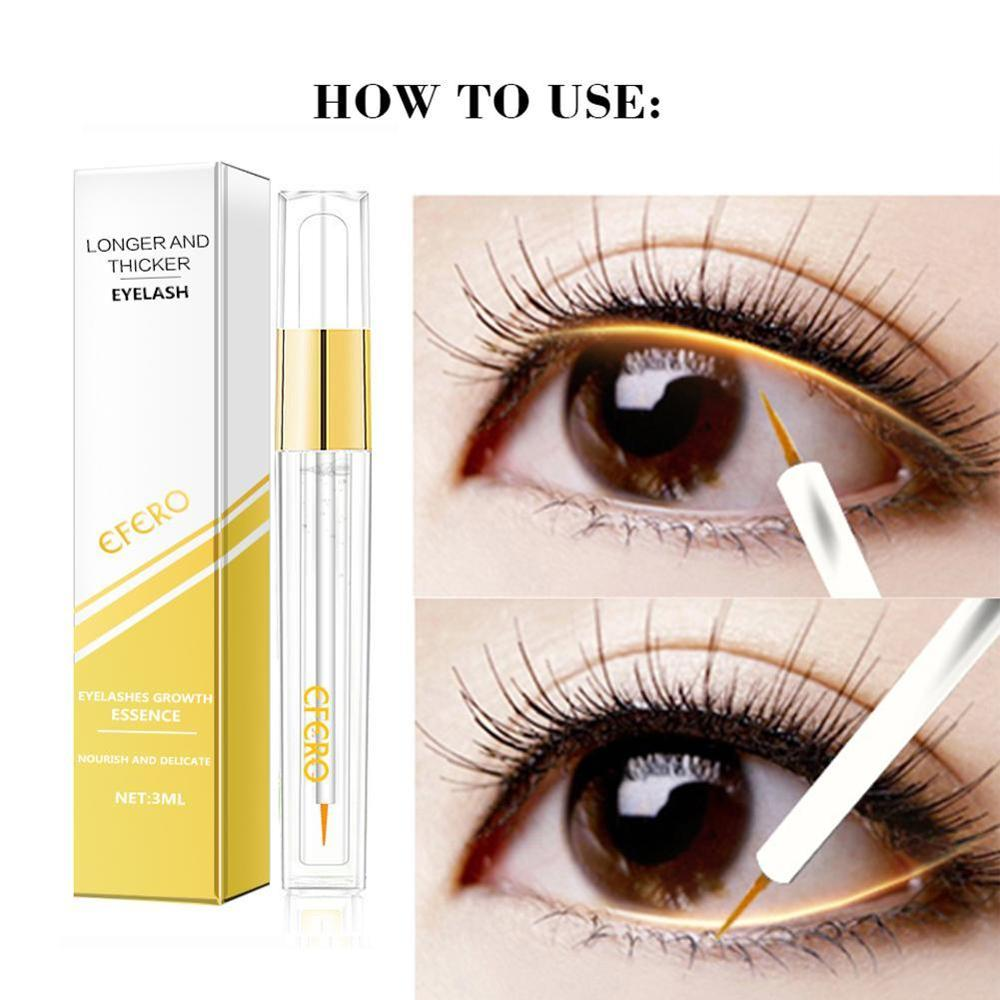 Eyelash Growth Eye Serum Eyelash Enhancer Eye Lash Serum Treatment Eye Lashes Extensions Mascara Thicker Longer Eye Makeup